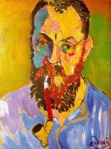 Andre Derain Portrait d'henri Matisse1905